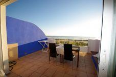 Fotografía tomada desde la terraza con vistas al mar