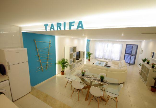 Salón de apartamento en Reserva de los Lances de Livingtarifa