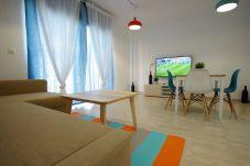 Salón del apartamento en el centro de Tarifa